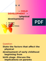 Factors Thet Affect the Physical Development of Prenatal