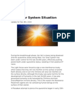 Solar System Situation