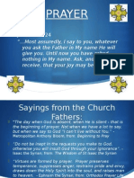 Intro to Prayer