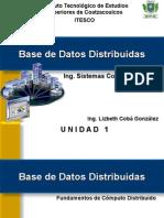 Base de Datos Distribuida Unidad 1