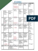 Course Schedule Sp15 COA