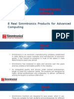 8 Real Simmtronics Products for Advanced Computing