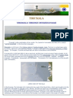 Tirumala 15pages GUIDE