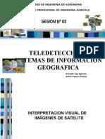 Introducccion Teledeteccion Clase 3 Agricola
