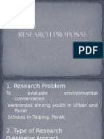 Research Proposal Exercise