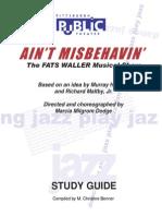 Ain't Misbehavin Study Guide