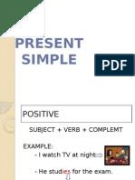 Present Simple 3 Person