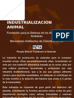 Industrializacion Animal