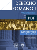 Derecho Romano 1 1 Semestre