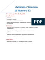 Revista Medicine 11 Volumen Numero 72
