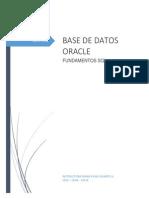 Fundamentos SQL Oracle