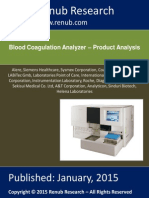 Blood Coagulation Report 2015