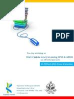 Multivariate Analysis Workshop