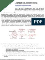 Soudures - Dispositions Constructives