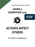 exhibition student handbook acs england