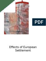 effects european settlement