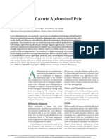 Acute Abdominal Pain Adults