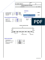 8.0 SLAB DESIGN (ACI)