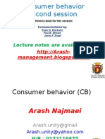 Consumer Behavior Lecture2