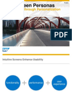 SAP Personas Overview