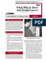 CIP33-High Strenght Concrete