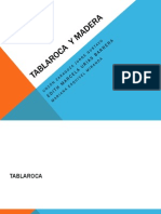 Tablaroca y Madera