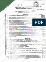 Manufacturing Process-II Dec09 Jan10