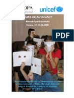 Suport de Curs Advocacy