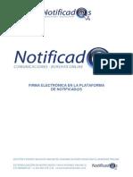 Más información sobre el proceso de firma electrónica en Notificad@s