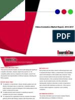 China Cosmetics Market Report, 2014-2017