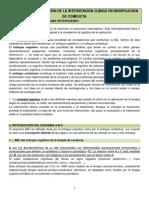 Tema 1 Caracterización de La Intervención Clínica en Modificación de Conducta
