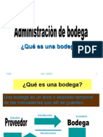Administracion Bodega