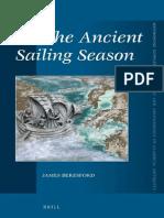 The Ancient Sailing Season