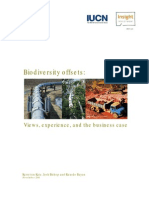 Biodiversity Offsets Report