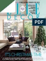 Elle Decoration India - December January 2015