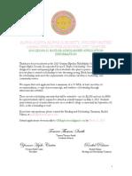 Leona K. Baylor 2015 Scholarship Application