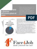 White Paper Face4Job Gennaio/Marzo2015