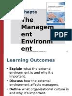 2. Organization and Environment