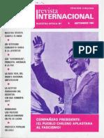 Revista Internacional - Nuestra Epoca N°9 - septiembre 1983 - Edición Chilena