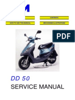 Sym DD 50 Service manual