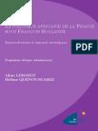La politique africaine de la France sous François Hollande, renouvellement et impensé stratégique. Par  Hélène Quenot-Suarez et Aline Leboeuf.