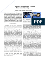 Robot Motor Skill Coordination with EM-based Reinforcement Learning