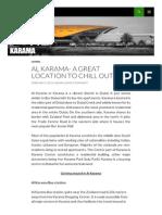Goingtodubai Com Al Karama a Great Location to Chill Out