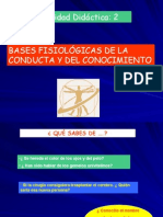 Bases Fisiologicas de La Conducta y Conocimiento