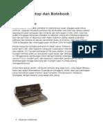 Sejarah Laptop Dan Notebook