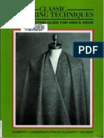 Men's Wear-tailoring Techniques