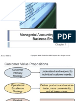 Chap 0011 - Managerial Accounting and the Business Environment
