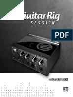 Guitar Rig Session IO Manual English