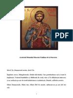 Acatistul Sf Emilian de la Durostorum