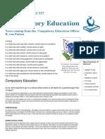 Newsletter Compulsory Education Jan.&Feb